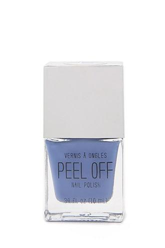 Forever21 Light Blue Peel-off Nail Polish