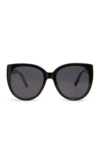 Forever21 Square Solid Sunglasses
