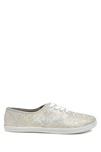 Forever21 Iridescent Glitter Sneakers