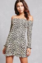 Forever21 Motel Cheetah Bodycon Dress