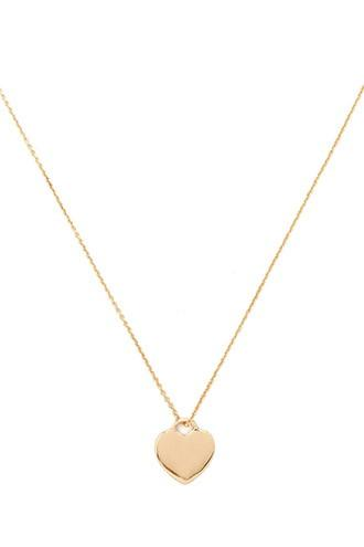 Forever21 Heart Pendant Necklace