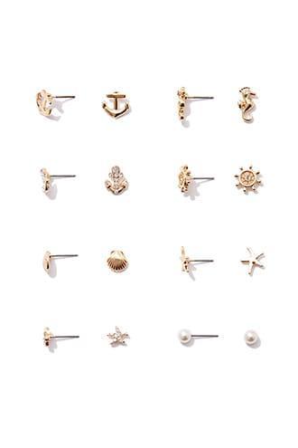 Forever21 Nautical Stud Earrings Set