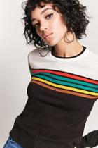 Forever21 Colorblock-stripe Sweater