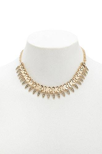 Forever21 Geo Statement Necklace