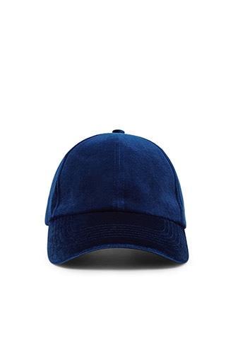 Forever21 Velvet Baseball Cap