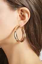 Forever21 Thick Hoop Earrings