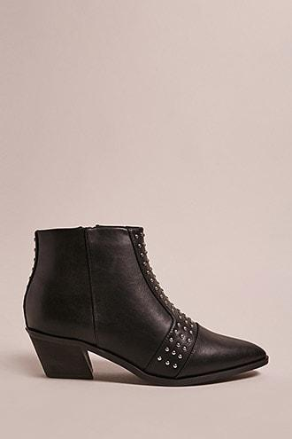 Forever21 St. Sana Studded Ankle Boots