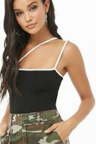 Forever21 One-shoulder Cami Bodysuit