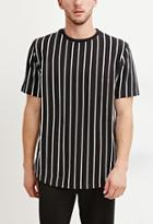21 Men Men's  Striped Cotton Tee