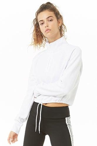 Forever21 Nyc Graphic Fleece Pullover