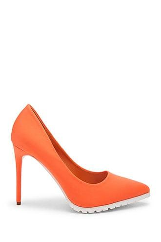 Forever21 Textured Sole Stiletto Pumps