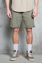 Forever21 Clean Wash Denim Shorts