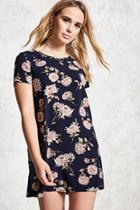 Forever21 Floral Zip-back Dress