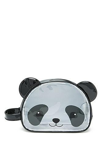 Forever21 Panda Face Makeup Bag