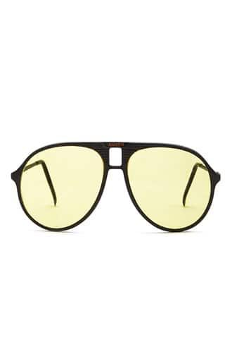Forever21 Yellow Tint Aviator Sunglasses