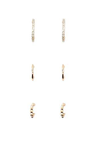 Forever21 Mini Hoop Earring Set