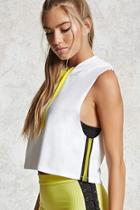 Forever21 Active Sleeveless Hoodie