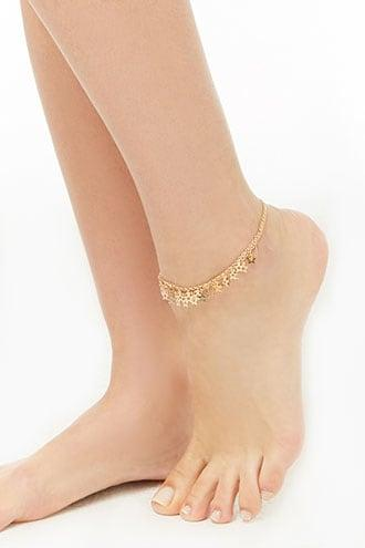 Forever21 Cutout Star Charm Anklet Set