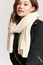 Forever21 Ribbed-trim Oblong Scarf