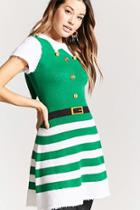 Forever21 Holiday Fit & Flare Dress