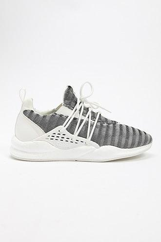 Forever21 Men Cortica Knit Sneakers