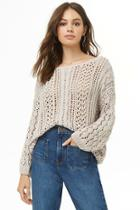 Forever21 Open Knit Sweater