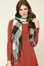 Forever21 Women's  Plaid Flannel Scarf