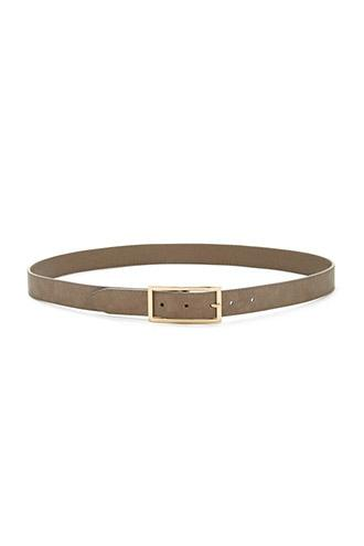 Forever21 Faux Leather Buckle Belt