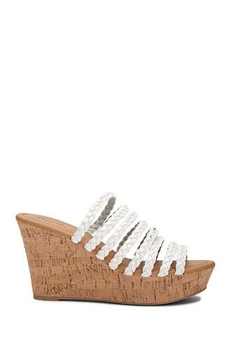 Forever21 Faux Leather Strap Wedges