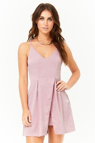 Forever21 Lustrous Cami Dress