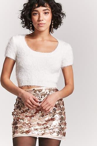 Forever21 Metallic Sequin Skirt