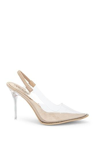 Forever21 Translucent Sling-back Heels