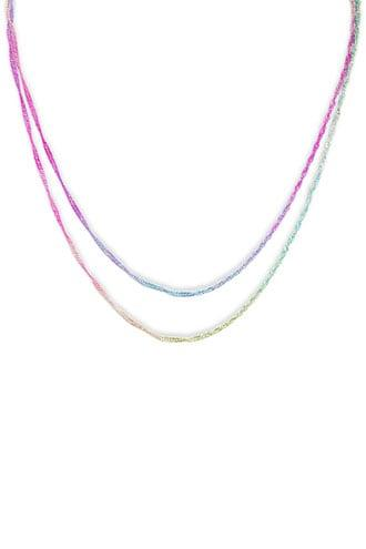 Forever21 Multicolor Layered Necklace