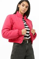 Forever21 Solid Padded Jacket