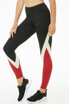 Forever21 Active Colorblock Print Leggings