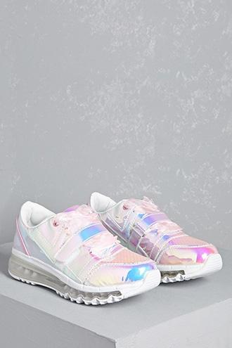 Forever21 Y.r.u. Holographic Sneakers