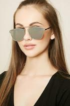 Forever21 Mirrored Cutout Sunglasses