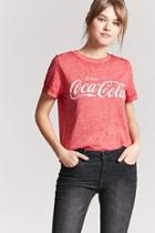 Forever21 Heathered Coca-cola Logo Tee