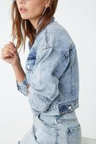 Forever21 Acid Washed Denim Jacket