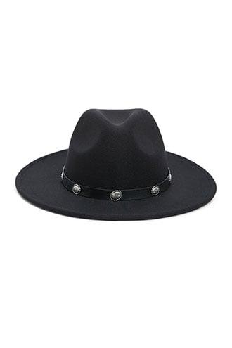 Forever21 Etched-trim Fedora