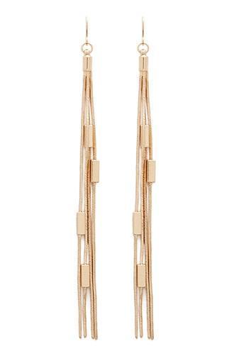 Forever21 Charm Chain Duster Earrings