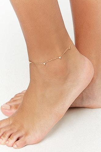 Forever21 Cz-charm Anklet