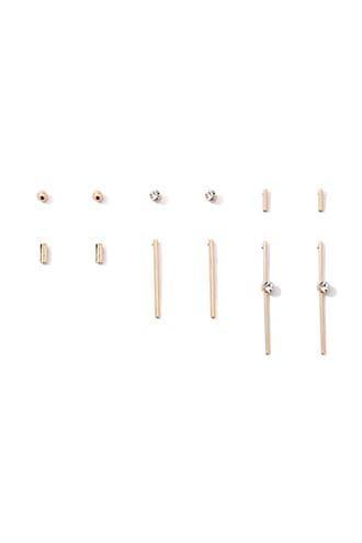 Forever21 Bar Stud Earring Set