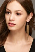 Forever21 Lucky Star The Strand Earrings (gold)