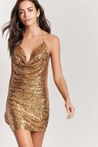 Forever21 Sequin Halter Dress