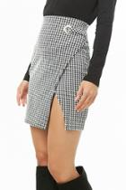 Forever21 Houndstooth Tulip Skirt