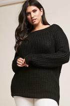 Forever21 Plus Size Distressed Back Tunic