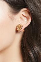 Forever21 Rose Stud Earrings