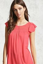 Forever21 Bamboo Lace Top