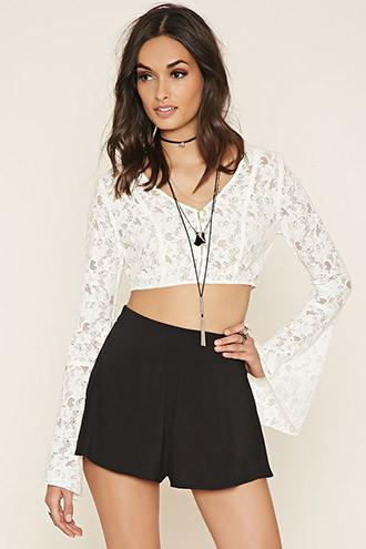 Forever21 Women's  High-waisted Shorts